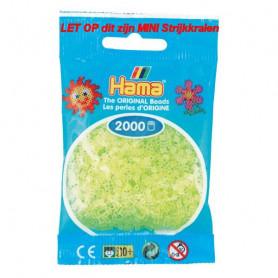 Hama mini beads color 34 Neon Yellow