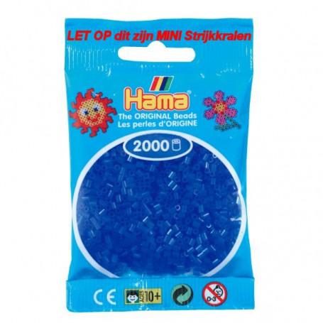 Hama mini kralen kl 36 blauw neon