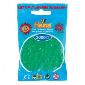 Hama mini beads color 37 Neon Green