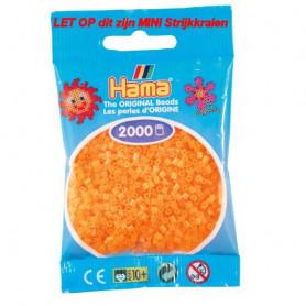 Hama mini kralen kl 38 orange neon
