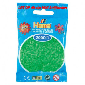 Hama mini beads color 42 Fluorescent Green
