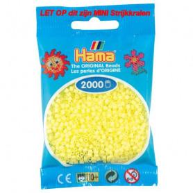 Hama mini kralen kl 43 geel pastel