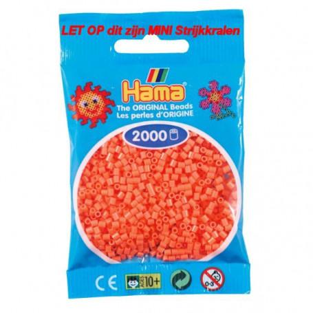 Hama mini kralen kl 44 rood pastel