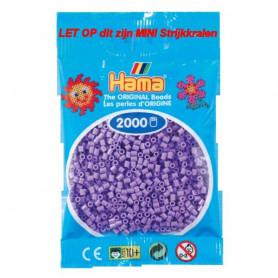 Hama mini kralen kl 45 paars pastel