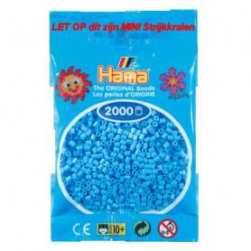 Hama mini kralen kl 46 Blauw Pastel