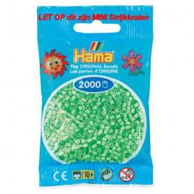 Hama mini beads color 47 Pastel Green