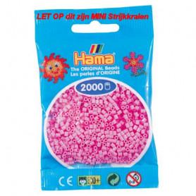 Hama mini kralen kl 48 roze pastel