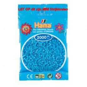 Hama mini beads color 49 Azure Blue