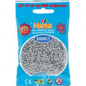 Hama mini beads color 70 Light Grey