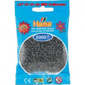 Hama mini beads color 71 Dark Grey