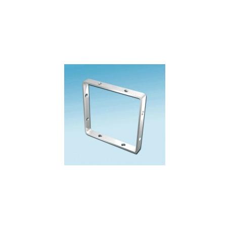 Fimo hanger vierkant 10x10mm. 4 stuks