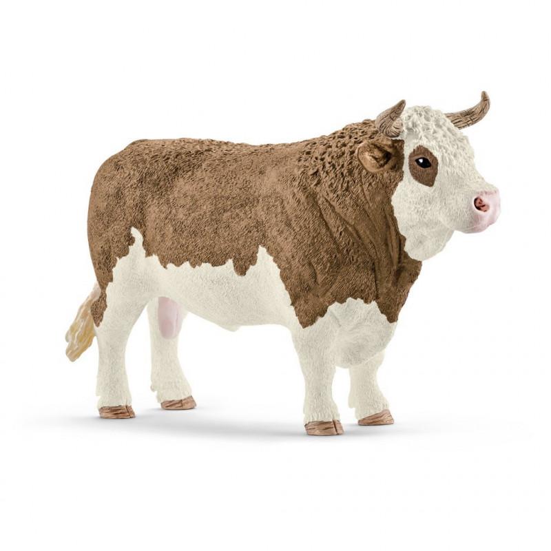Schleich 13800 Simmental stier