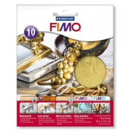 Fimo Leaf metal gold