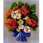 Stickit 42119 Boeket bloemen motief 1
