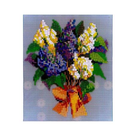 Stickit 42122 Boeket bloemen motief 4