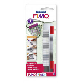 Fimo 3-piece blades/knife set