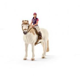 Schleich 42359 Cavalière amatrice avec cheval