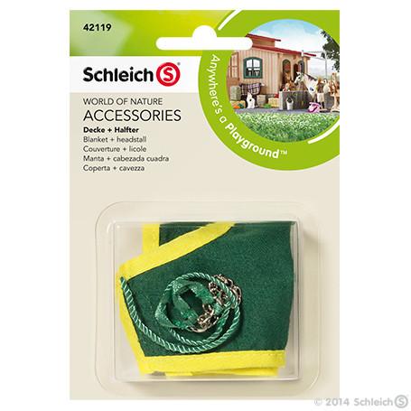 Schleich 42119 Blanket + headstall