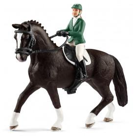 Schleich 42358 Springruiter met paard