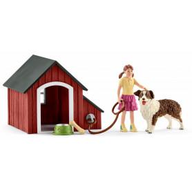 Schleich 42376 Dog kennel