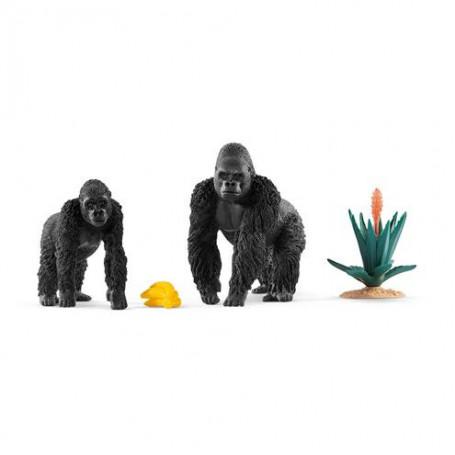 Schleich 42382 Etende Gorilla`s