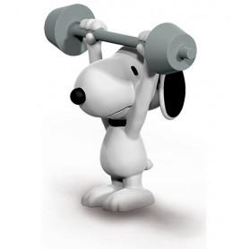 Schleich 22075 Snoopy Gewichtheffer