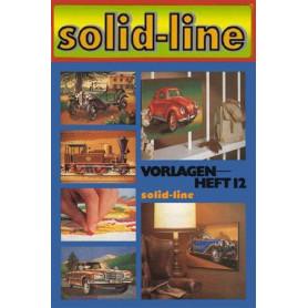 Voorbeeld boek heft 12 Oldtimers + oude treinen