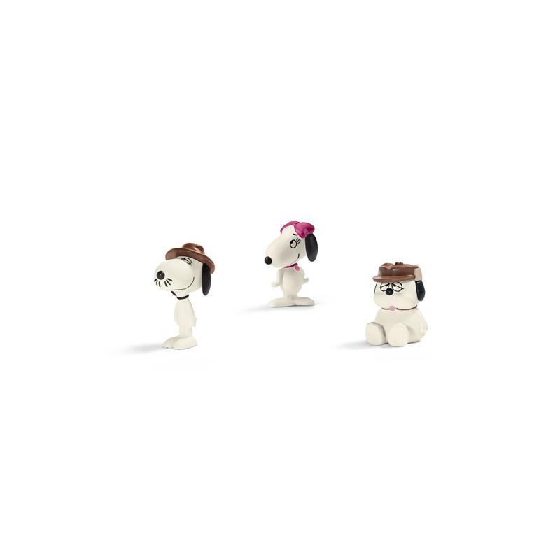 Schleich 22053 Snoopy`s Family Scenery Pack