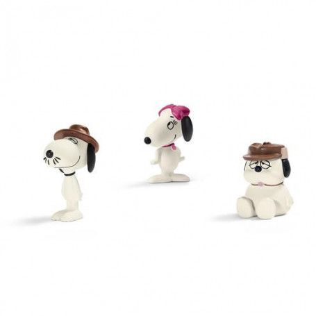 Schleich 22058 Snoopy`s Family Scenery Pack