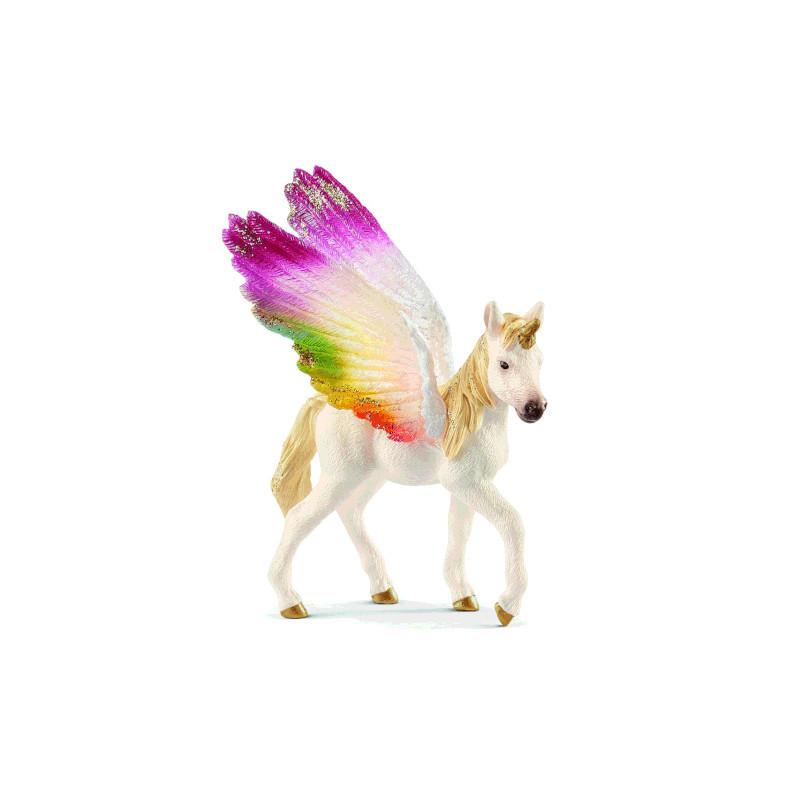 Schleich 70577 Rainbow Alicorn Foal