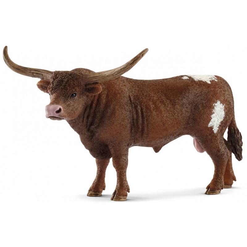 Schleich 13866 Texas Longhorn Stier