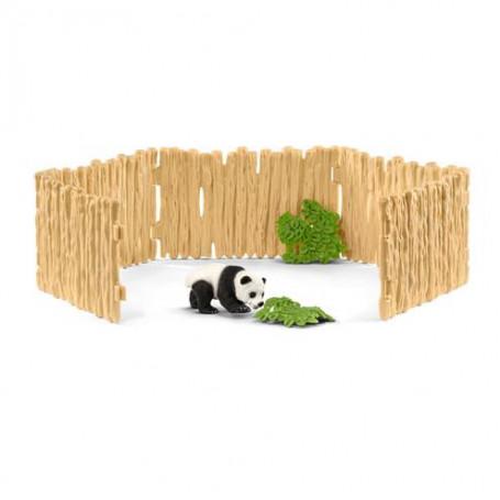 Schleich 42429 Paddock met panda