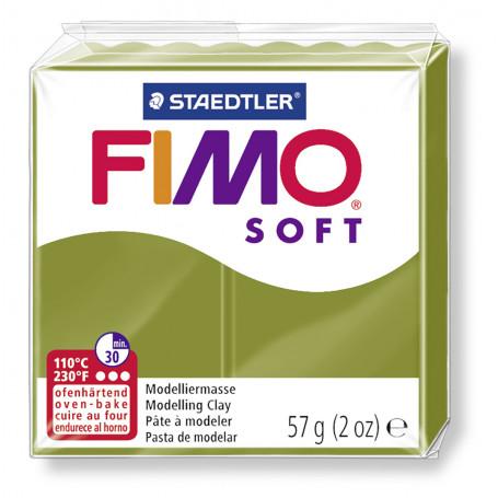 Fimo soft nr 57 Olijf groen