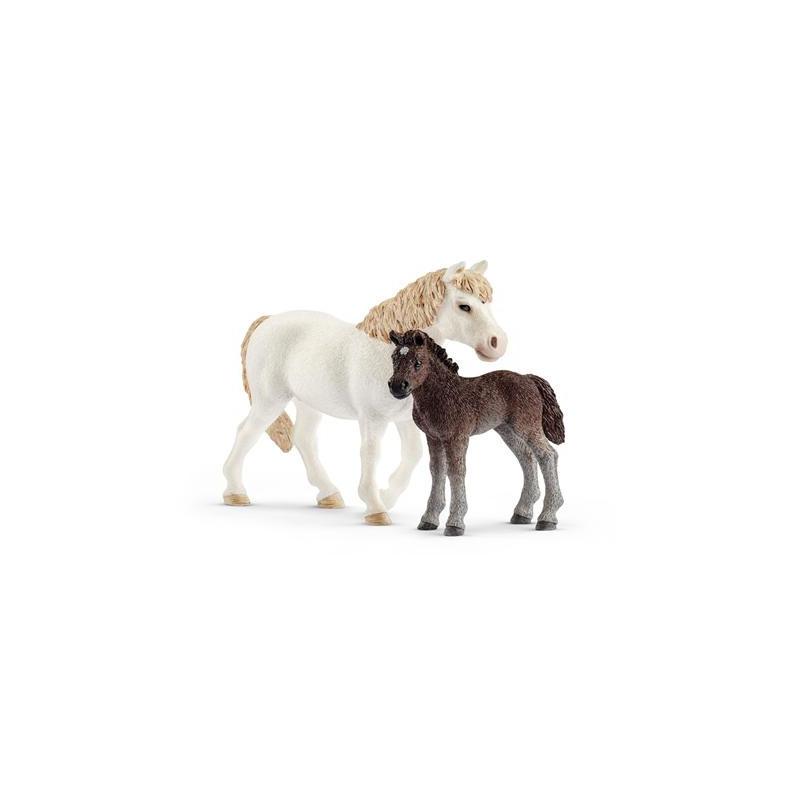 Schleich 42423 Pony merrie en veulen