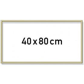 Goudkl. Aluminium lijst 40x80 cm