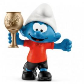 Schleich 20807 Football Smurf with trophy
