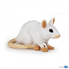Papo 50222A Witte muis
