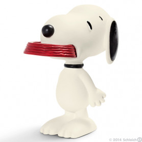 Schleich 22002 Snoopy holding his supper