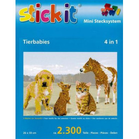 Stickit 41154 Babydieren 4in1