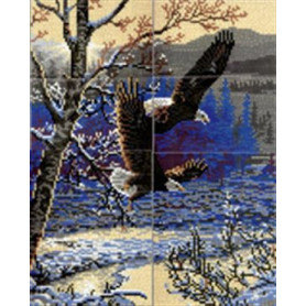 Stickit  41238 Winter vlucht