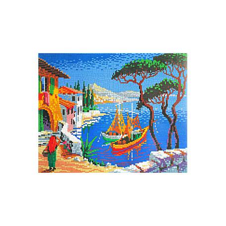 Stickit 41214 Italiaans Dorp