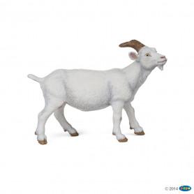 Papo 51144 Chèvre blanche