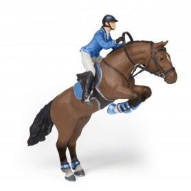Papo 51560 Shetland Pony mit Sattel