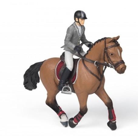 Papo 56561 Competitie ruiter op paard