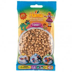 Hama strijkkralen75 Cappuccino ( licht bruin )