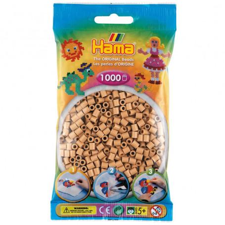 Hama strijkkralen 75 Cappuccino ( licht bruin )