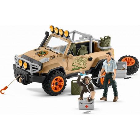 Schleich 42410 Jeep met lier