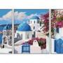 Schilderen op nummer : Santorini