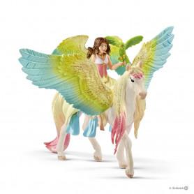 Schleich 70566 Surah mit Glitzer-Pegasus