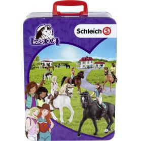 Schleich verzamelkoffer Horse Club